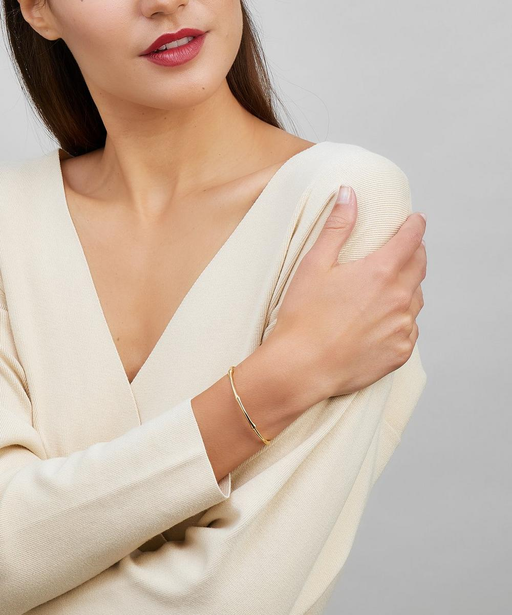 Gold-Plated Bamboo Cuff