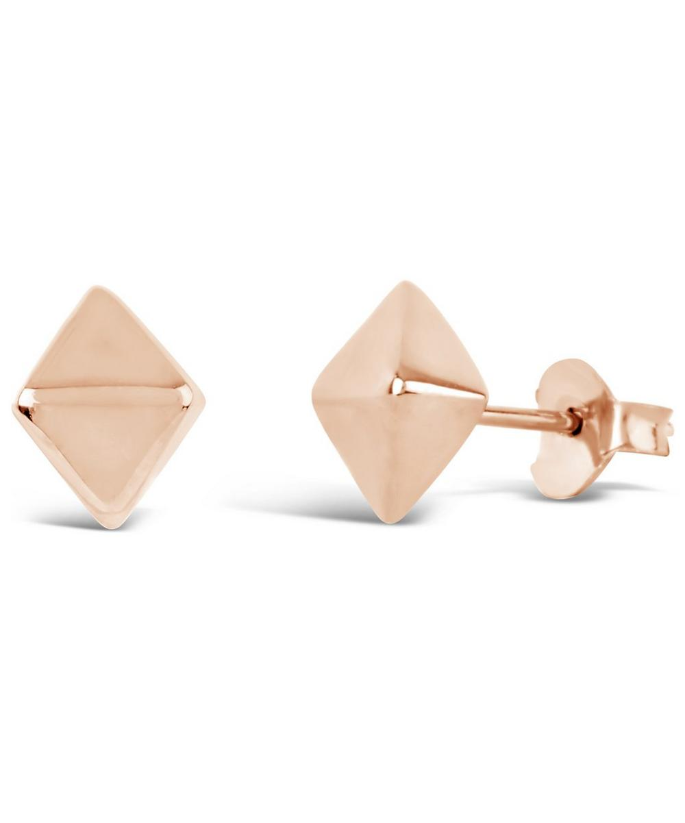 Gold-Plated Almaz Stud Earrings