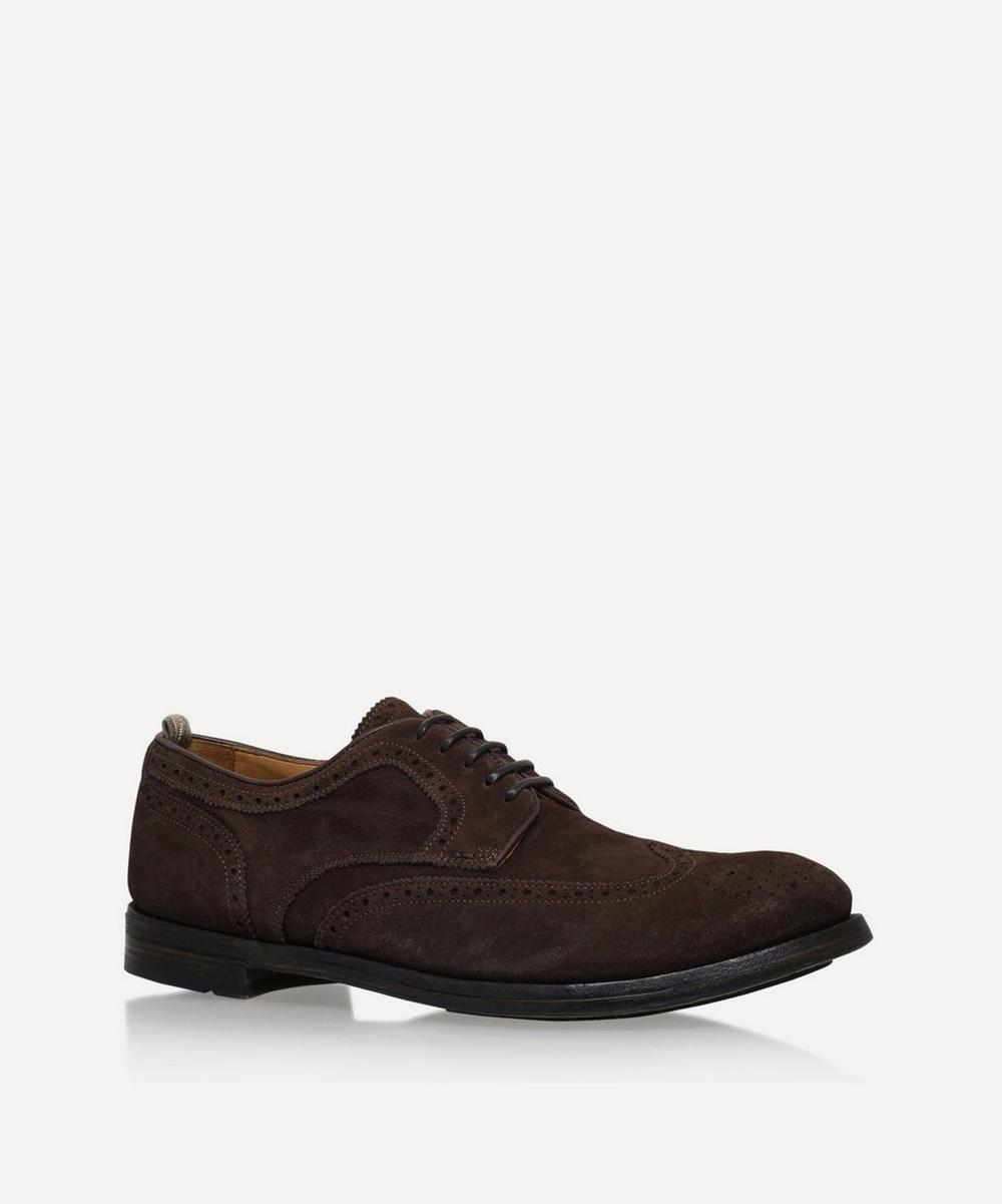 Officine Creative - Punched Derby Shoe
