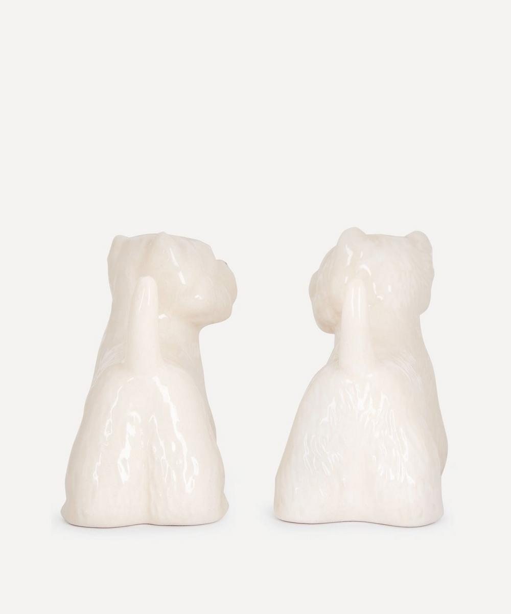 Westie Salt and Pepper Shakers