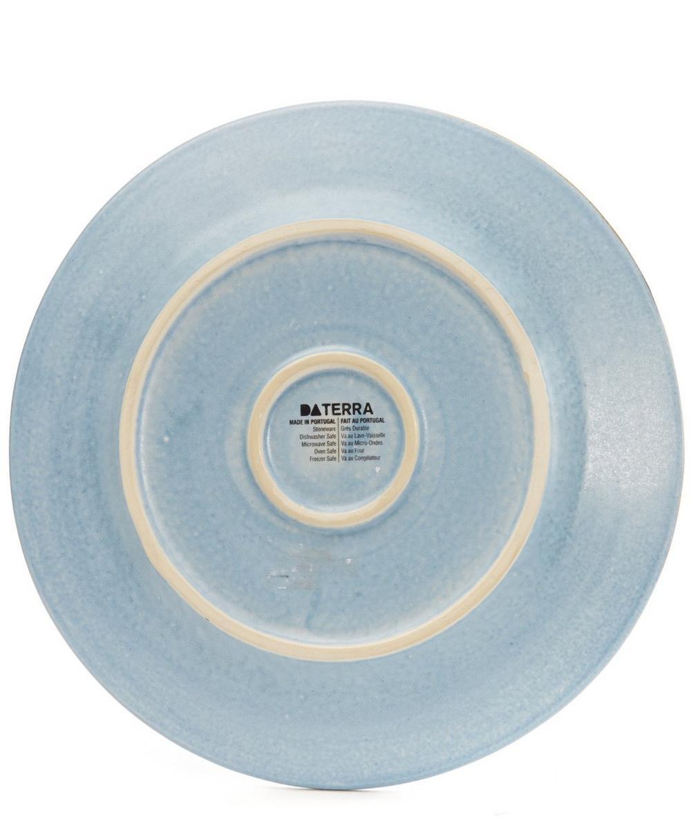 Stripe Stoneware Side Plate