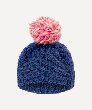 Luca Pom Pom Hat Knitting Kit