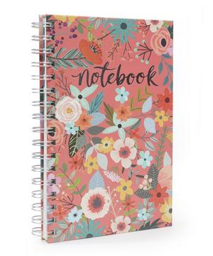 Secret Garden Spiral Notebook