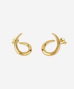 Gold Vermeil Toro Medium Twist Stud Earrings