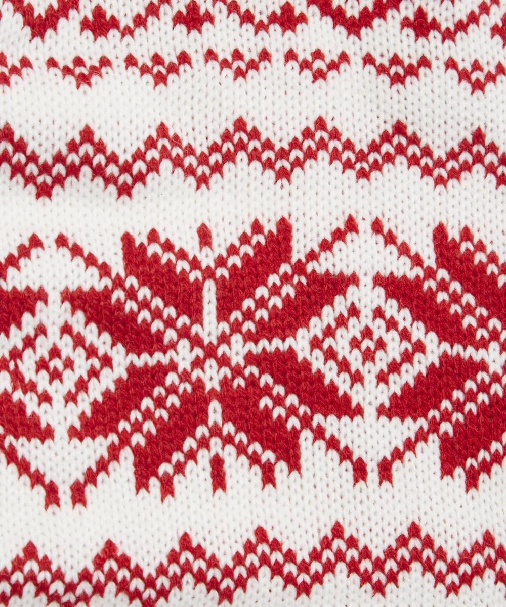 Scandinavian Fair Isle Knitted Stocking | Liberty London
