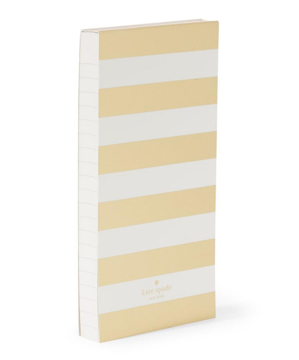 Large Stripe Notepad