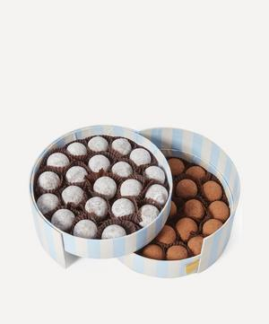 Milk and Dark Sea Salt Caramel Truffles Large Collection 510g
