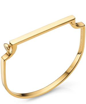 Gold Vermeil Signature Thin Bangle