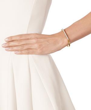 Gold Vermeil Signature Thin Diamond Bangle