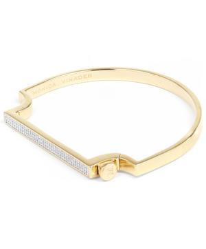 Gold Vermeil Signature Petite Thin Diamond Bangle