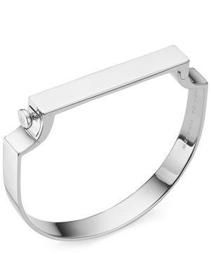 Silver Signature Bangle