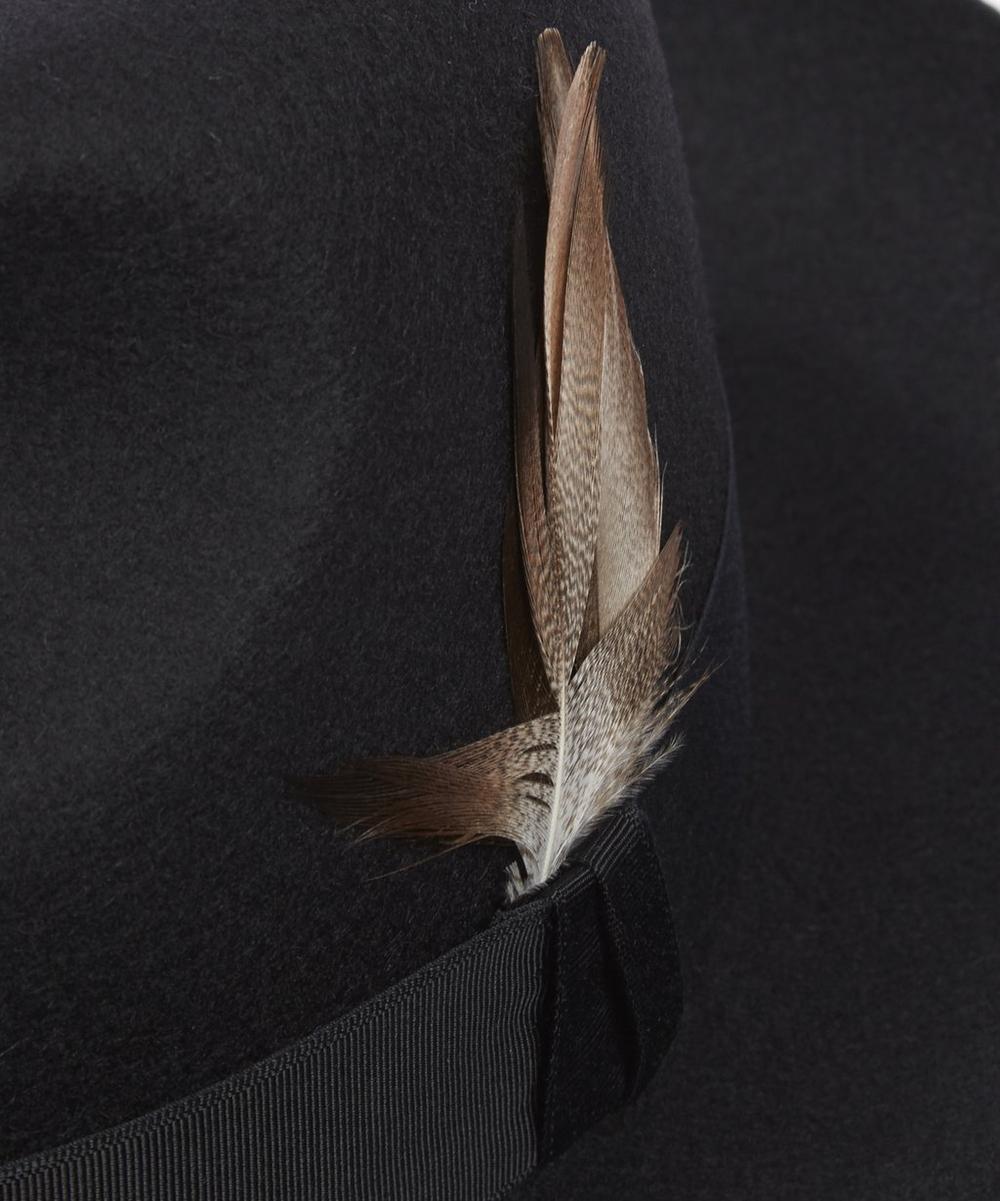 Grosvenor Wool Felt Fedora Hat