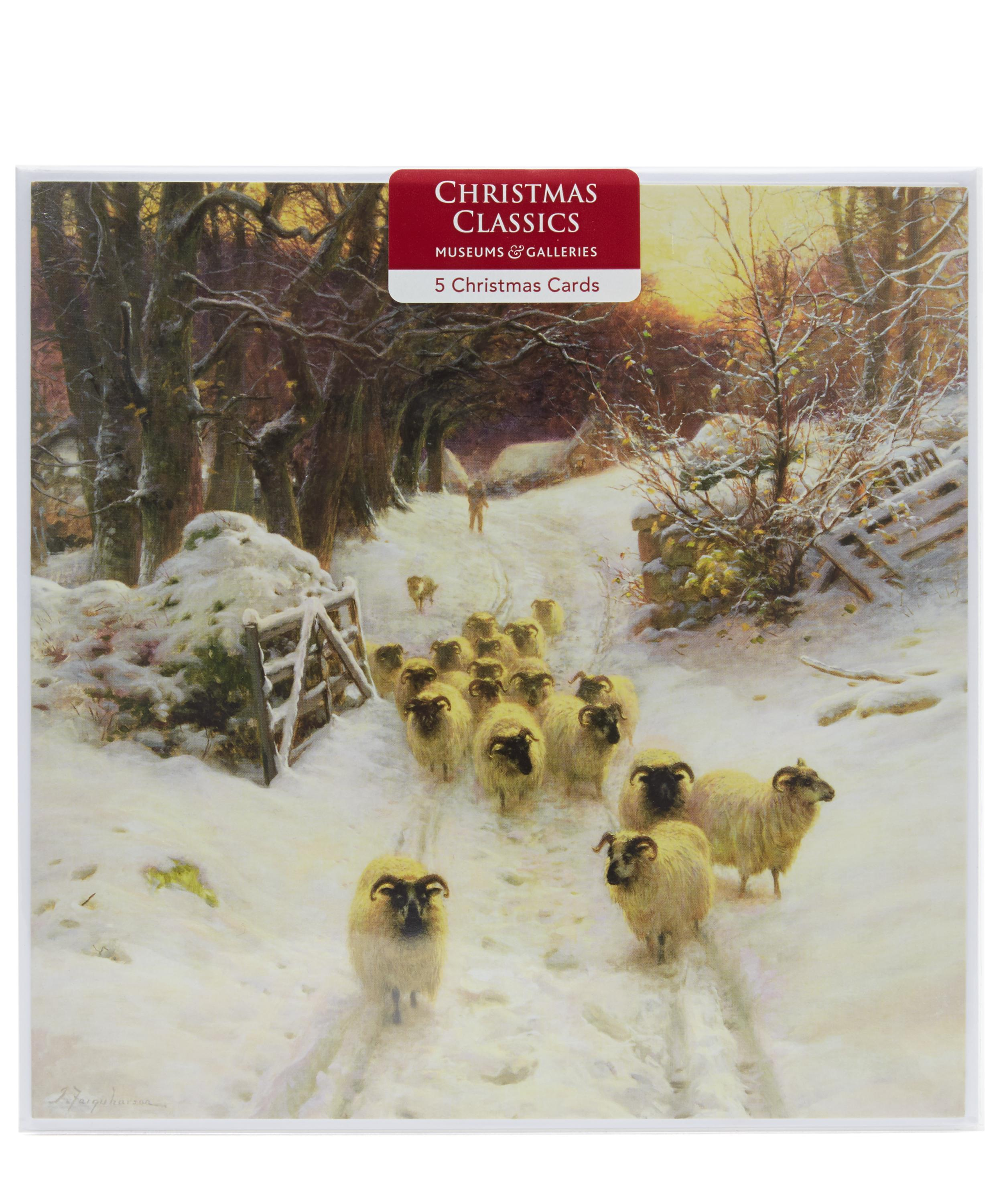 Classic Christmas Cards Museums And Galleries Liberty London