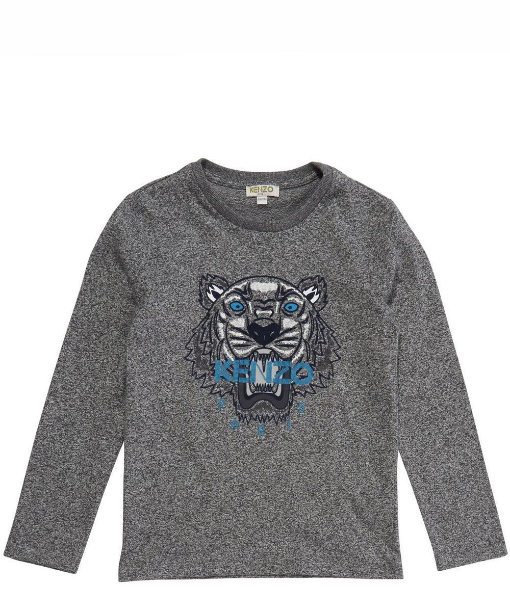 6dd5863b Kenzo Kids Tiger Print Long Sleeved T-Shirt | Liberty London