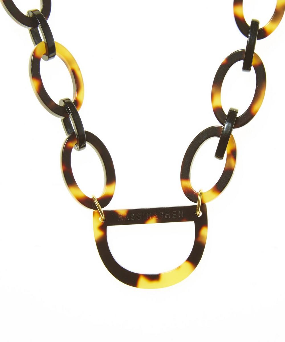 No.2 Glasses Chain Necklace