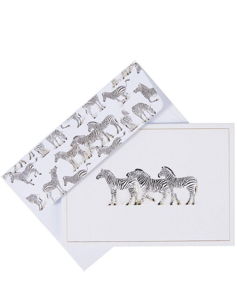 Zebra Note Cards