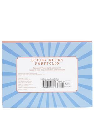 Comic Sticky Notes Portfolio