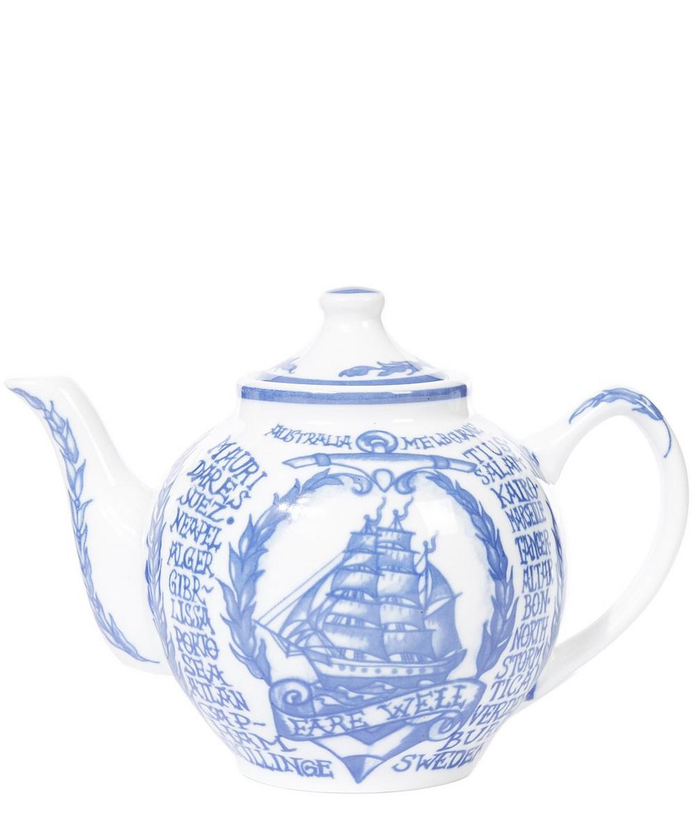 Around the World Small Teapot