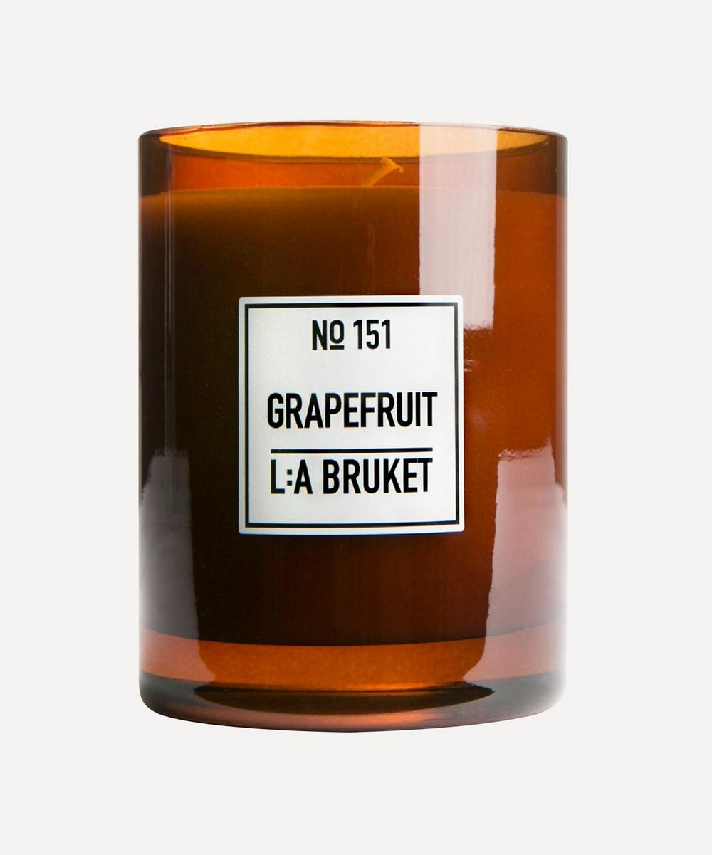 L:A Bruket - Grapefruit Scented Candle 260g