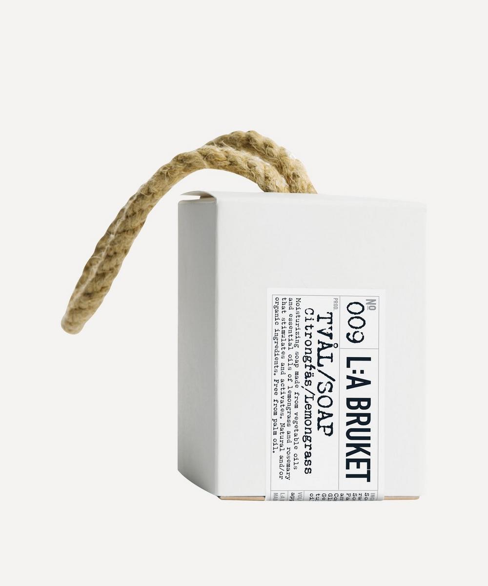 L:A Bruket -  Lemongrass Soap on a Roap 240g