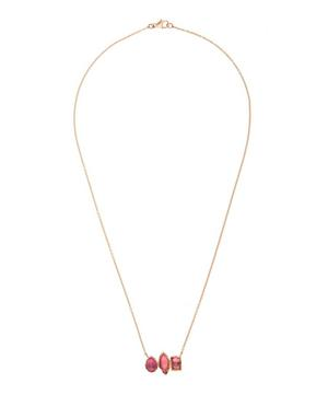 Rose Gold Rivera Bar Necklace