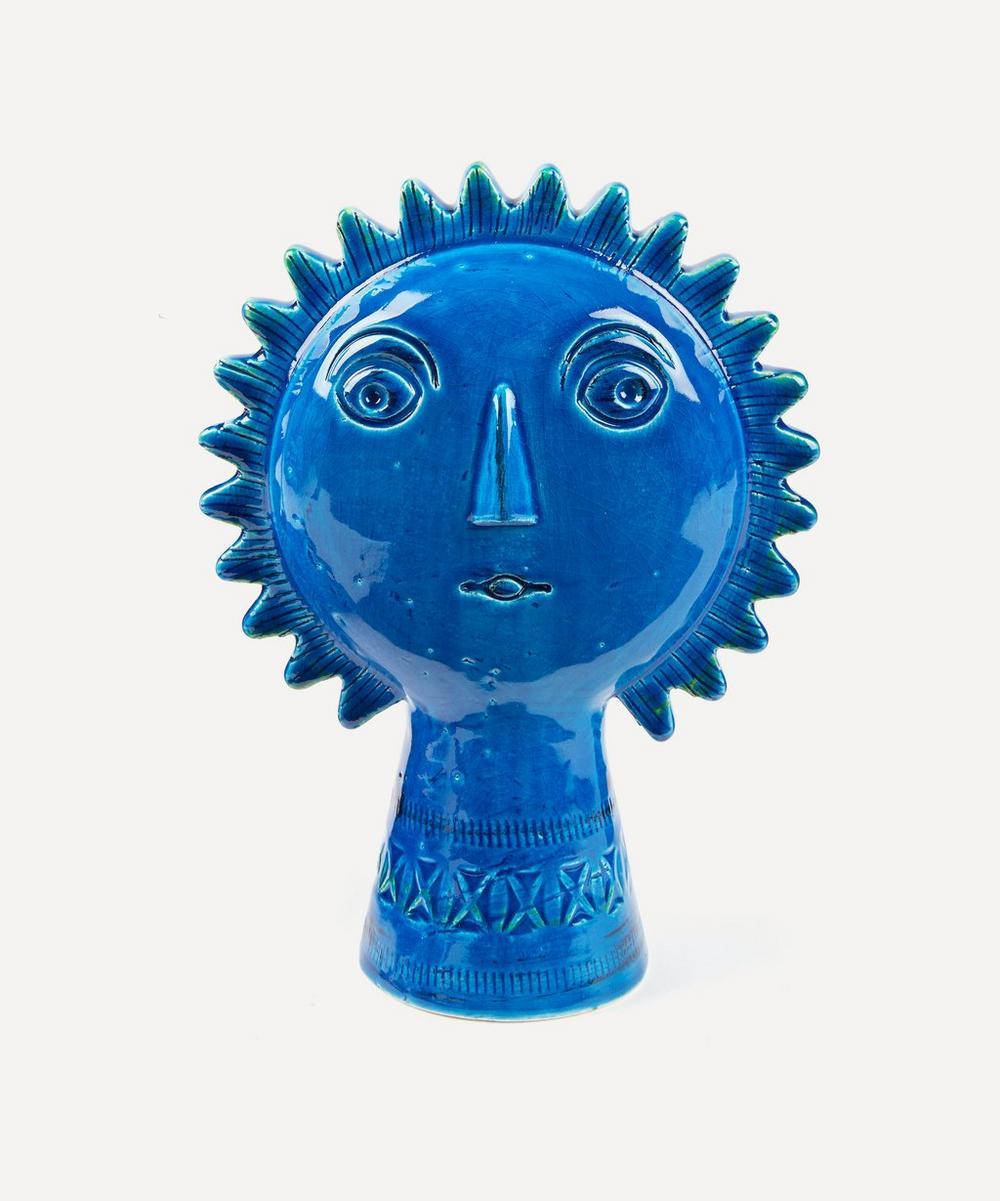 Bitossi - Rimini Blu Ceramic Sun Figure