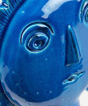 Rimini Blu Ceramic Sun Figure