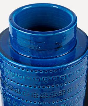 Rimini Blu Ceramic Plinth Vase