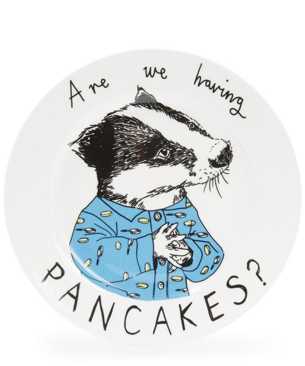 Are We Having Pancakes Side Plate