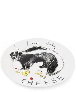I Love Stinky Cheese Side Plate