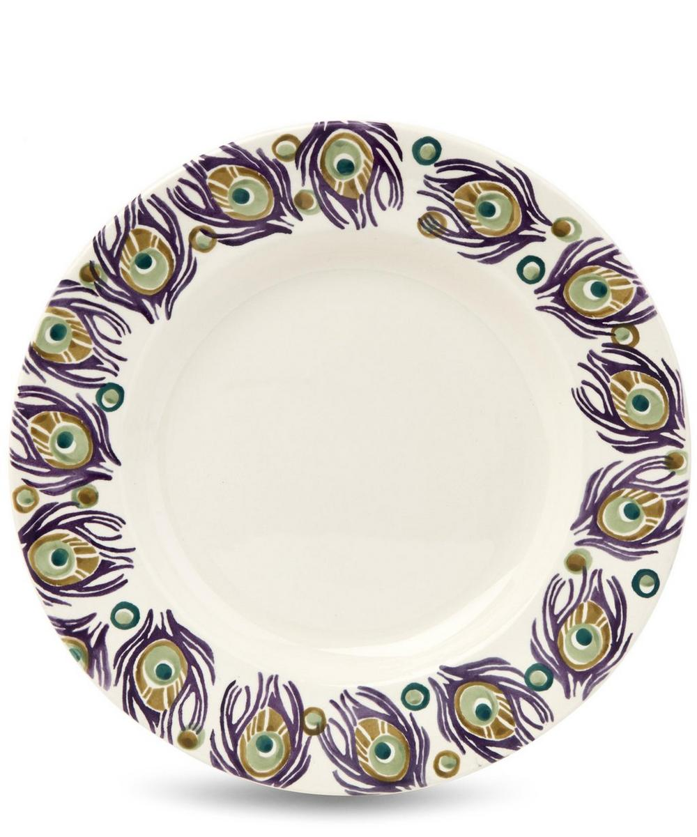 Peacock 10.5 Inch Plate