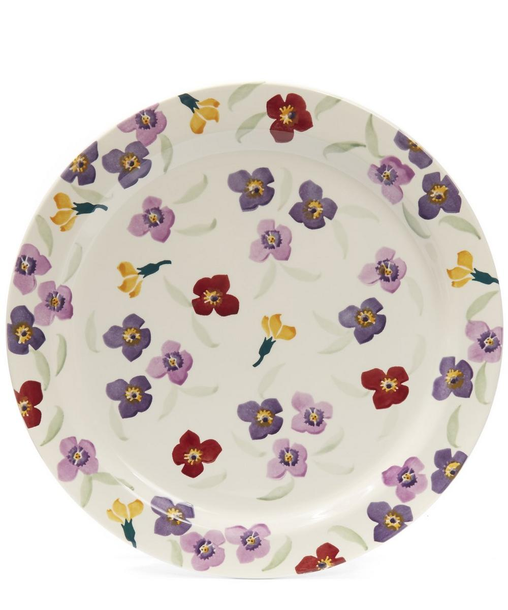 Wallflower Cake Plate