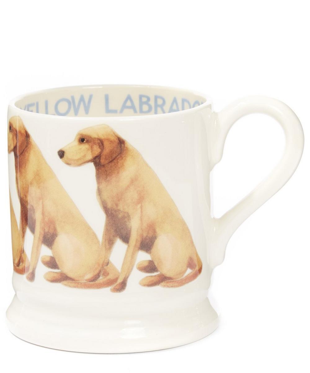 Yellow Labrador Half Pint Mug