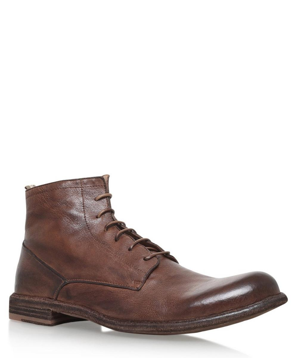 Officine Creative -  Derby Lace Boots
