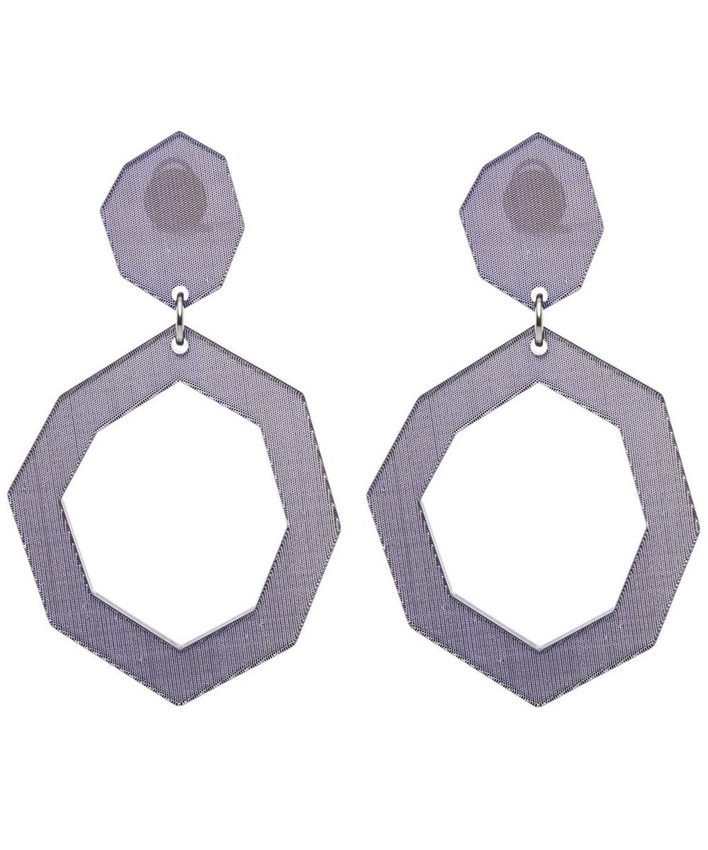 DIANA BROUSSARD Eurydice Mirror And Resin Earrings