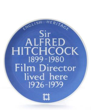 Blue Plaque Alfred Hitchcock Plate