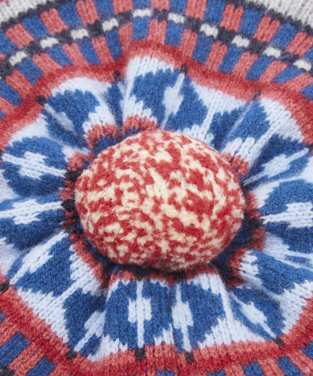 Fairisle Knit Beret Hat | Liberty London