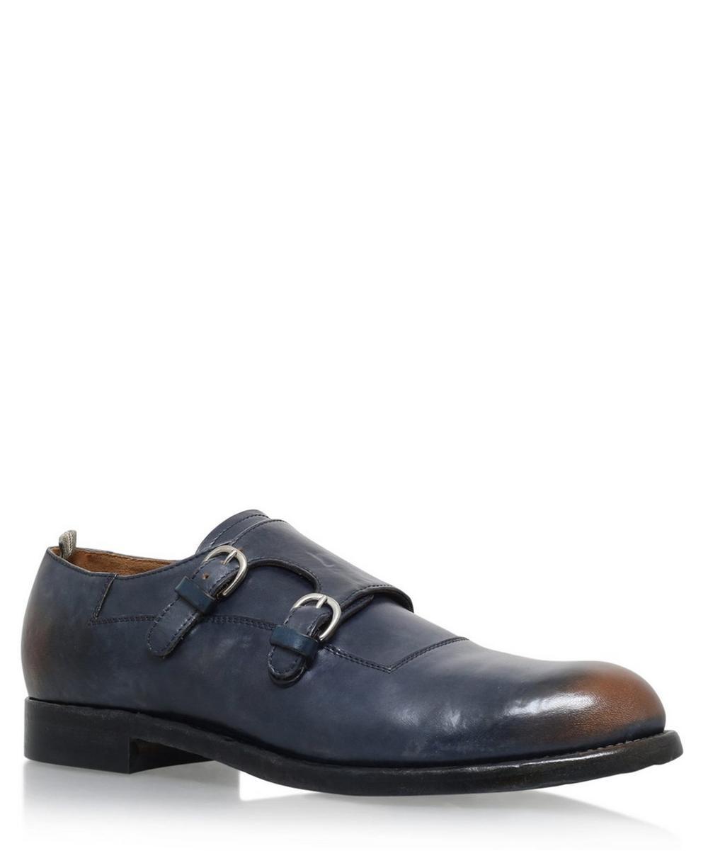 Officine Creative -  Double Monk Strap Shoe