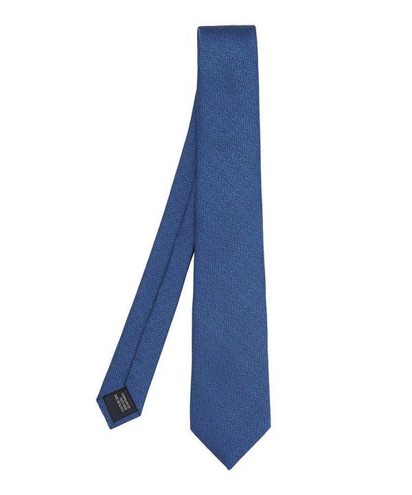 Abstract Melange Tie