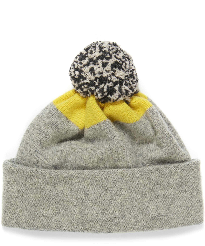 8f4e071d24a Lambswool Spot Top Bobble Hat