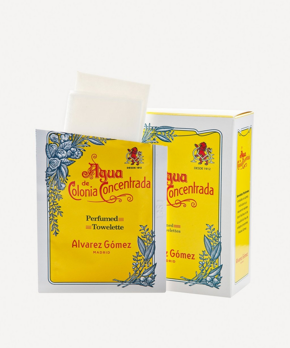 Agua de Colonia Concentrada Refreshing Wipes