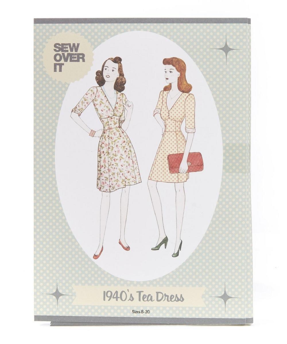 1940s Tea Dress Sewing Pattern Liberty London