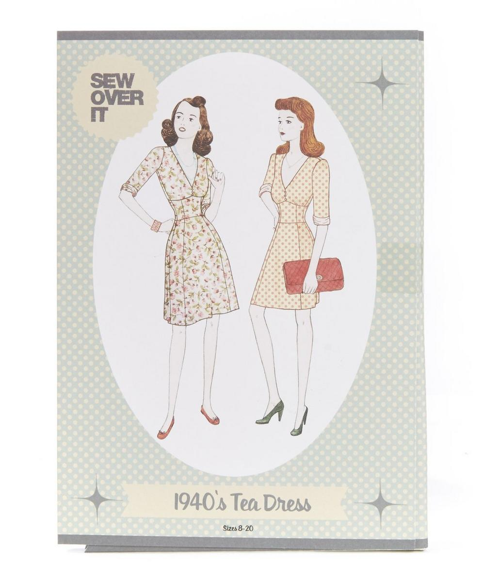 1940s Tea Dress Sewing Pattern