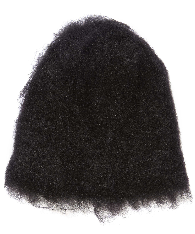 Kid Mohair Knitted Beanie Hat  28558ac5f20