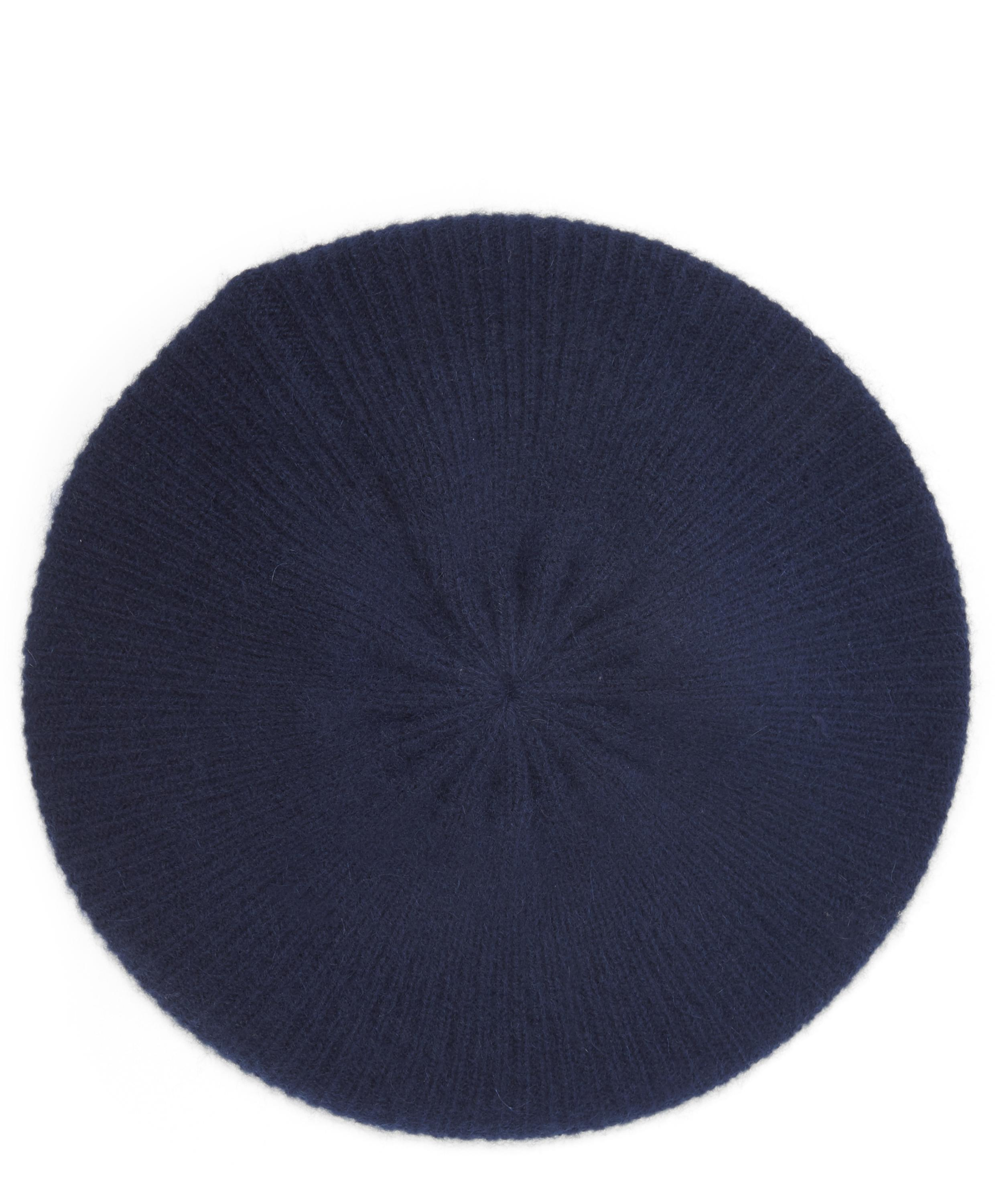 b9bec18dd6b Milled Cashmere Knitted Beret