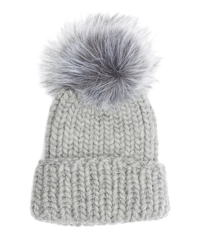 84c74237d Rain Pom Pom Beanie Hat