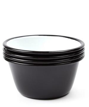 Enamel Bowls Set of Four