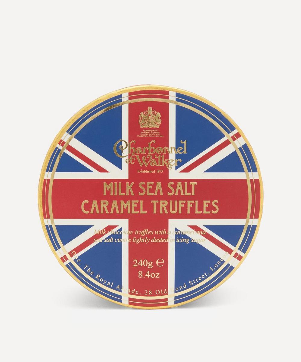 Union Jack Milk Sea Salt and Caramel Truffles