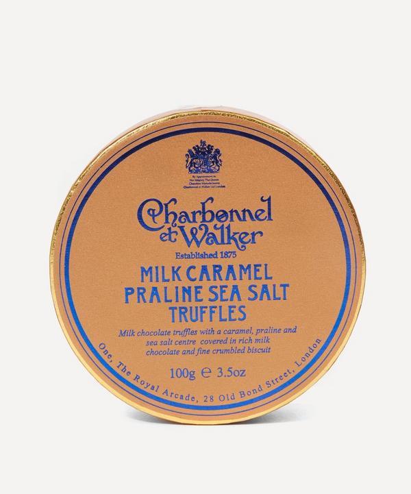 Milk Caramel Praline Sea Salt Truffles 100g