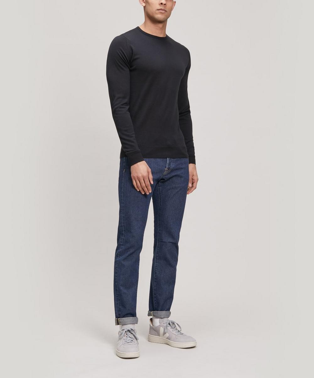 Lundy Crew-Neck Merino Wool Sweater